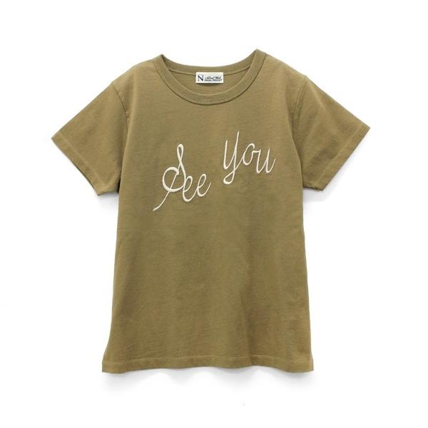 M0733 See You刺繍Tシャツ