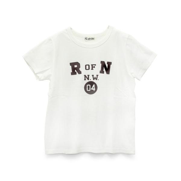 M0749 R OF N フロッキープリントTシャツ
