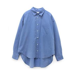 B2392 インディゴタイプライターBIGシャツ