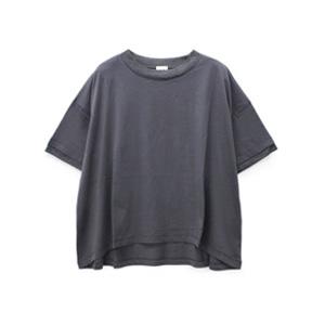 M0899 異素材コンビフレアTシャツ