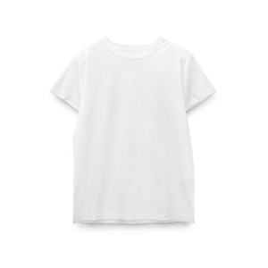 M0948 80/-スムースシルケットクルーネックTシャツ