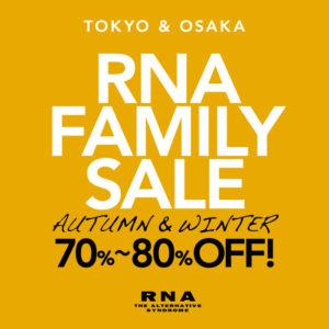 RNA FAMILY SALE