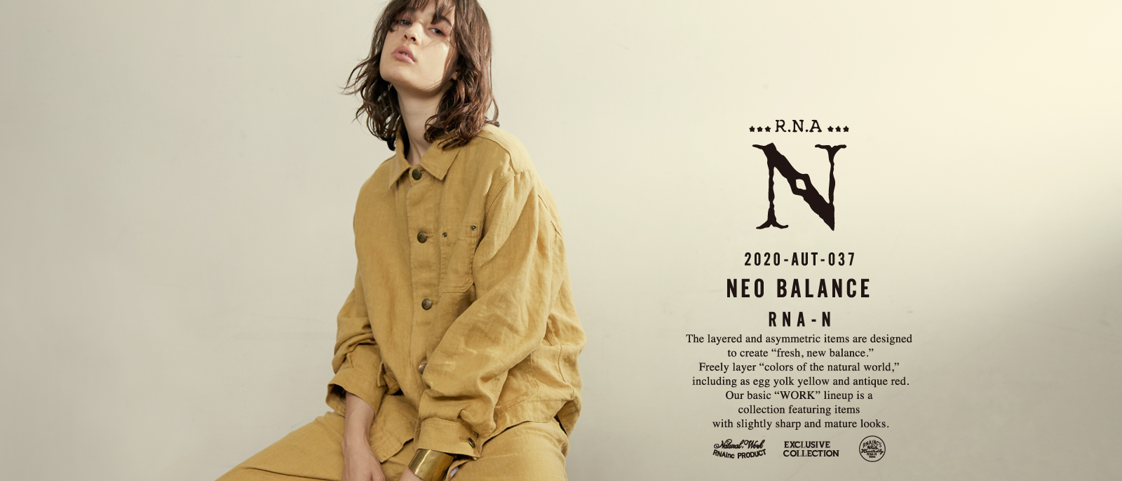 RNA-N 2020 AUTUMN COLLECTION